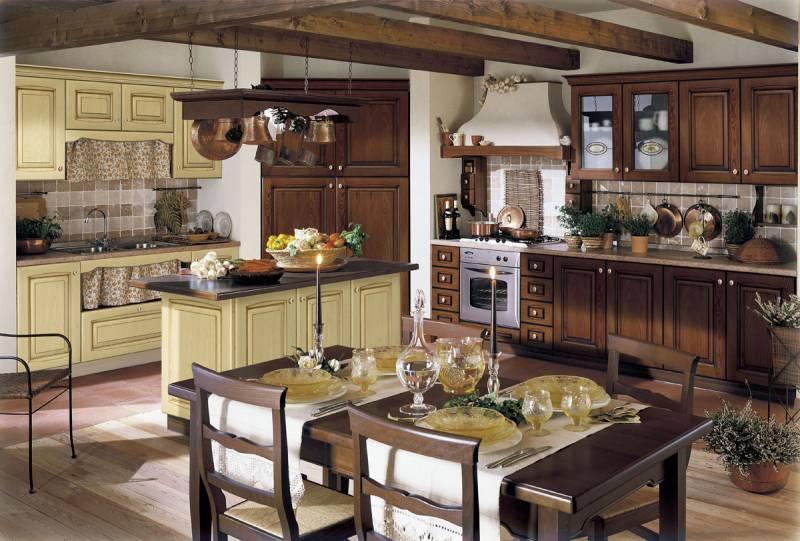 Кухни в итальянском стиле фото